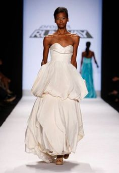 Wedding Gown by Leanne Marshall (Project Runway Season 5)