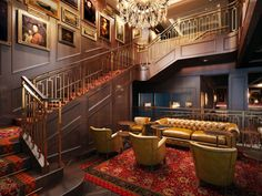 The lobby of RARE Steakhouse in Washington D.C. has the grandeur of a European manor, with richly paneled acoustic walls created by SoundPly. It's the perfect setting for delicious food and, because of SoundPly, great conversation, too! #acousticsolutions #soundply #madeinmn #washingtondc Acoustic Wall Panels, Az State, Acoustic Baffles, Rest Area, Monterey Bay Aquarium, Downers Grove, Hudson Yards, Plank, Mall Of America