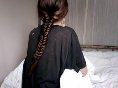 fishtail braids <3