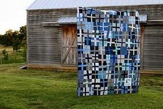 "I like quilts that aren't perfect. It makes it easier to claim it was an artistic choice to be ""off."""