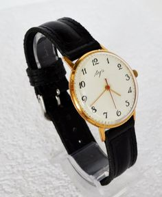 Men's Deluxe Watch Vintage Collectibles USSR by bestLuba on Etsy