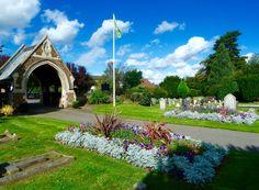 Vandyke cemetery, Leighton Buzzard, 30/09/2016