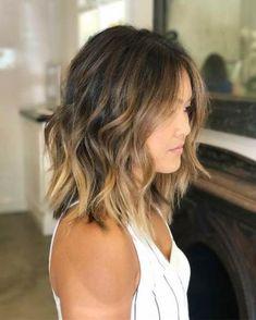 Asian Hair Highlights, Balayage Asian Hair, Hair Color Asian, Ombre Hair Color, Hair Color Balayage, Balayage Highlights, Asian Ombre Hair, Blonde Asian Hair, Asian Hair Lob