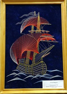 SCARLET SAILS - string art - http://www.lensoveta.ru/files/site_img_big/572_1347546754.jpg