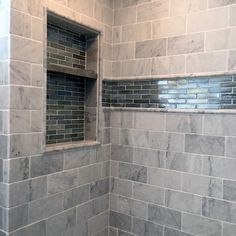 From herringbone tile to marble slabs and beyond, discover the top 70 best shower niche ideas. Explore recessed shelf designs for soaps and shampoos. Recessed Shower Shelf, Tile Shower Niche, Recessed Shelves, Bathroom Niche, Bathroom Tub Shower, Shower Tile Designs, Shower Shelves, Small Bathroom, Bathroom Ideas