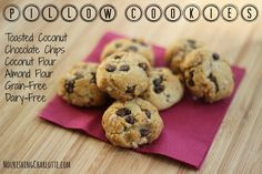 Paleo Pillow Cookies | RealFoodCarolyn.com