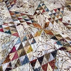 Laundry Basket Quilt of the Day - Dancing Star