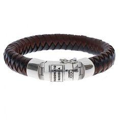 Buddha to Buddha Ben bracelet leather - WatchesnJewellery