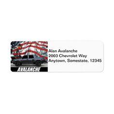 2003 Avalanche Label