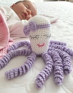 Image result for octopus crochet for preemies