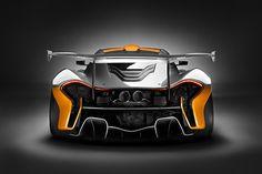 automotivated: trasera McLaren P1 GTR (por fanáticos del coche)