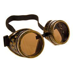 Golden Steampunk - Brass Goggles