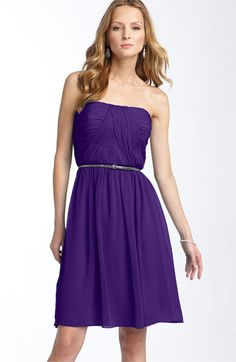$158 purple bridesmaid...this is a definitely possibility! Think I need to do something with that silver belt though. What do you think, girls? @Kelsey Kumm @Morgan Kent Molden @Mallory Kent @Colleen Davis