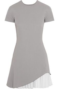 Not crazy about the color - but I love the hem treatment - fun & different & yet wearable