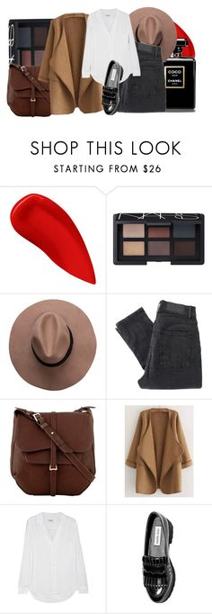 """She wants to dance like Uma Thurman...♪"" by imnotariot ❤ liked on Polyvore featuring Lipstick Queen, NARS Cosmetics, Cheap Monday, Radley, Equipment and Steve Madden"