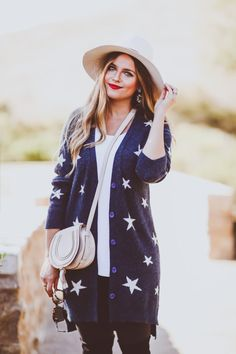 #OOTD // Star Cardig