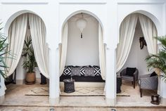 Outdoor space-Morrocan inspired.