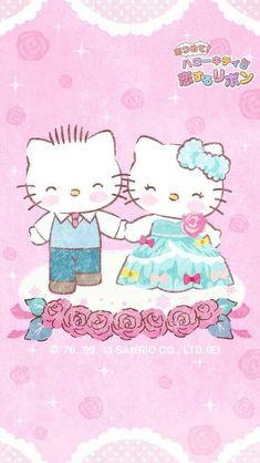 Source: via google image. Sanrio Wallpaper, Hello Kitty Wallpaper, Iphone Wallpaper, Beautiful Wallpapers For Iphone, Cute Wallpapers, Decoracion Hello Kitty, Hello Kitty Wedding, Hello Kitty Imagenes, Japanese Bobtail