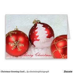 Christmas Greeting Card Stand white envelopes incl #Greeting #Card my #design for #sale @Zazzle/alexiotzovphotograph #Christmas #holidays #winter #stockphotography