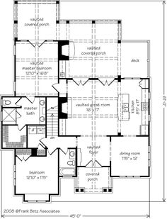 Allegheny - Frank Betz Associates, Inc. | Southern Living House Plans