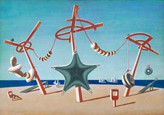 Edward Wadsworth 'The Beached Margin', 1937 © Tate