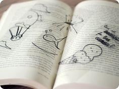 Petit ♥ Cookie: diy: marcador de páginas transparente