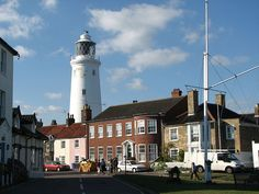 Southwold lighthouse is a lighthouse in the centre of Southwold in Suffolk,