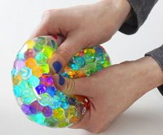 DIY Orbeez Stress Ball I Antistress Ball - All