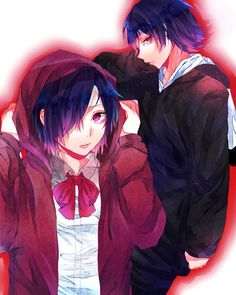Image shared by evᎥŀĿᎥve. Find images and videos about tokyo ghoul, kirishima touka and kirishima ayato on We Heart It - the app to get lost in what you love. Kaneki, Tokyo Ghoul, Ayato Kirishima, Anime Nerd, Best Series, Anime Characters, Beautiful Pictures, Creatures, Image