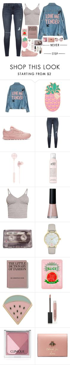 """#787"" by nctc ❤ liked on Polyvore featuring Lolli, Reebok, Black Orchid, i.am+, philosophy, BasicGrey, SUQQU, CASSETTE, Kate Spade and Des Petits Hauts"