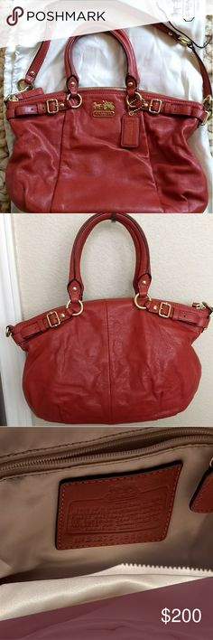 New & Beautiful Coach Pebbled Leather Bag NWOT, pristine new condition. Soft leather. Come with strap adjustable Coach Bags Shoulder Bags
