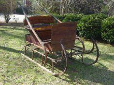 Antique Horse Sleigh   eBay