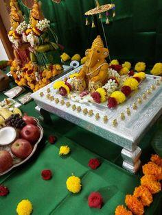 Mandir Decoration, Ganpati Decoration At Home, Ganapati Decoration, Ganpati Festival, Diwali Festival, Deepavali Special, Ganesh Pooja, Ganesh Chaturthi Decoration, Festival Quotes