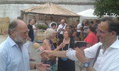 Celle di San Vito presso il ristorante le Fontanelle con turisti australiani