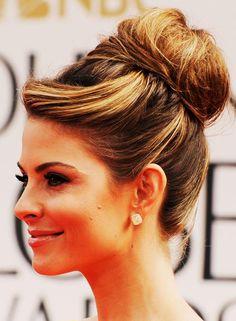 Casual Hairstyles For Medium Length Hair - Hair-Wrapped High Bun