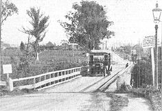 The Whau bridge on the road to Henderson. The New Lynn town Board threatened to close it unless it was rebuilt. Nz History, Auckland New Zealand, Maine, Past, Bridge, Photographs, Board, Outdoor, Past Tense