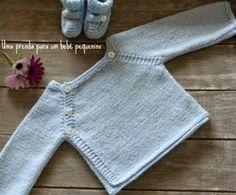 Malha a Malha | Handmade Life: prenda para um bebé pequenino | gift for a little ...