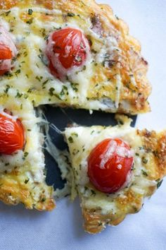 keto quiche tomato solo
