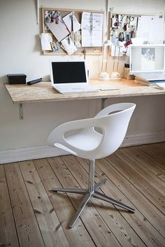 simple workspace (via Home Office)