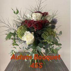 Autum bouquet 45$ #annespetals #toowoombaweddingflorist #toowoomba #toowoombaregion #toowoombasmallbusiness Christmas Wreaths, Floral Wreath, Bouquet, Holiday Decor, Home Decor, Decoration Home, Room Decor, Bouquets, Wreaths