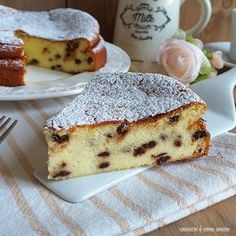 Cake with lemon crown - HQ Recipes Rhubarb Recipes, Lemon Recipes, Sweet Recipes, Delicious Desserts, Yummy Food, Mexican Dessert Recipes, Rhubarb Cake, Nutella, Italian Cake