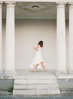 Photography: Paula OHara - www.paulaohara.com  Read More: http://www.stylemepretty.com/2014/06/13/flutterby-bridal-inspiration-shoot/