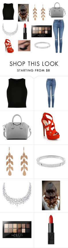 """Happy easter"" by rojoubdalia on Polyvore featuring River Island, Topshop, Givenchy, Prada, Irene Neuwirth, Michael Kors, Maybelline and NARS Cosmetics"