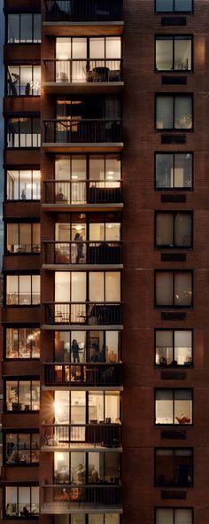 Looking through windows.... Photography by Gail Albert Halaban (image detail)