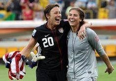 abby wambach and hope solo.