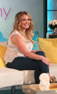 Hilary Duff pregnancy interview