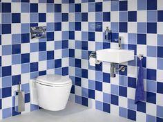 Badkamer inspiratie praxis op pinterest tuin met en busjes - Hoe kleed je een witte muur ...