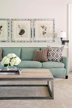 Love the use of color and combinations of color as well as the elegant simplity! Tobi Fairley Living Room Design