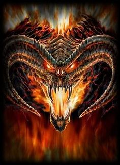 Balrog by Anne Stokes. Me: Ooh, Balrog. By Anne Stokes. Me and my sister: This is gonna be good. Anne Stokes, Foto Fantasy, Dark Fantasy Art, Fantasy Images, Jrr Tolkien, Balrog Of Morgoth, John Howe, O Hobbit, Hobbit Art
