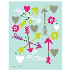 Elizabeth Grubaugh Love Print #laylagrayce